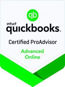 Badge for HfMTax as a Certified ProAdvisor by Quickbooks